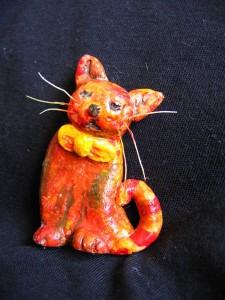 Kot z masy solnej