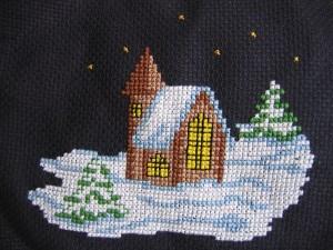 Zimowy obrazek (2008r.)