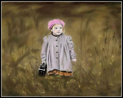 dziewczynka, 2009r.