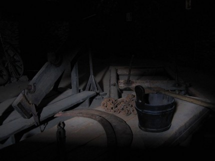 sala tortur, zamek Czocha, wakacje 2009r.