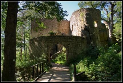 zamek Bolczów, wakacje 2009