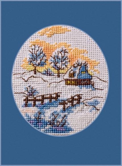 Zimowy obrazek 2008r.