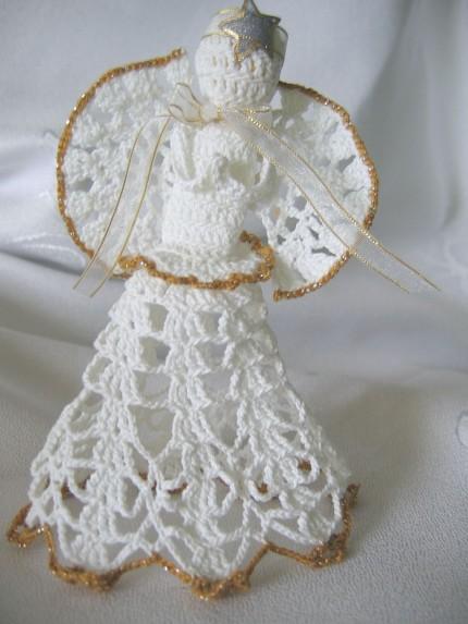 aniołki szydełkowe 2009r.