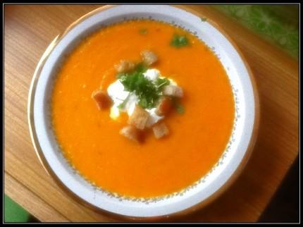 zupa krem z marchwi 2013