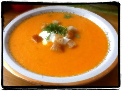 zupa krem z marchwi 2013r.