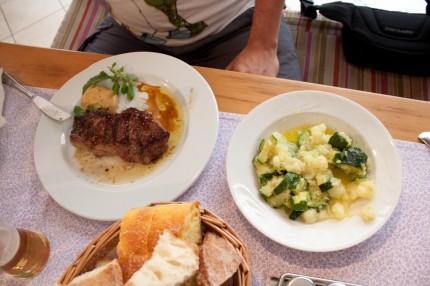 jedzenie, Chorwacja wakacje 2013r.