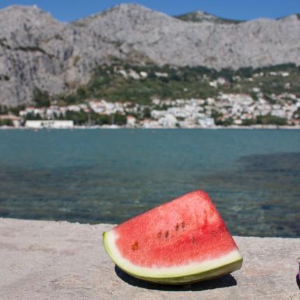 jedzenie, Chorwacja , wakacje 2013r.