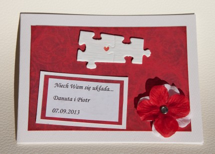 kartki ślubne 2013