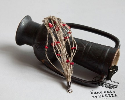 bransoletka ze sznurków 2014r.