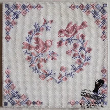 haft krzyżykowy-ptaszki 2015r.