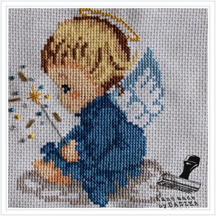 aniołek haft 2015r.